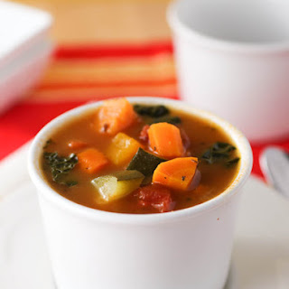 Fall Minestrone Soup.