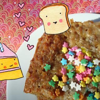 Birthday Cake Bread Pudding.
