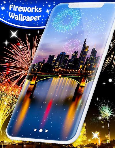 New Years 2019 Fireworks Live Wallpaper 4.8.4 screenshots 3