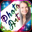 Photo Art Editor - Focus n Filters - Name art apk