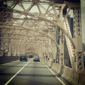 Queensboro Bridge by Dhiaz Danastri - Buildings & Architecture Other Exteriors