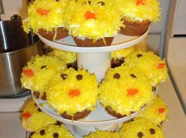 Easter Chick Cupcakes. Recipe