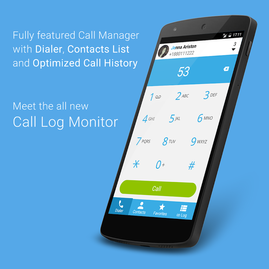 Call Log Monitor- screenshot
