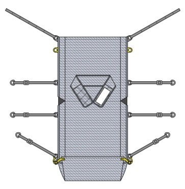 Specialised stretcher sling