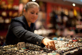 Photo: Searching for the right ring, New York City