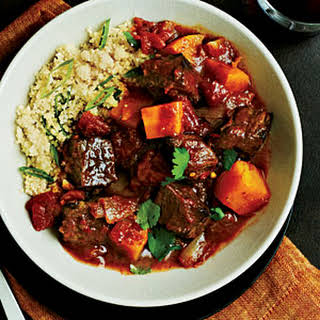 Beef Tagine with Butternut Squash.