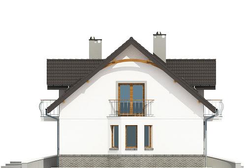 Dom Dla Ciebie 3 bez garażu B - Elewacja lewa