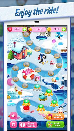 Sweet Candy Yummy 🍮 Color Match Crush Puzzle  captures d'écran 1