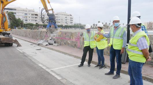 En marcha las obras del Puerto-Ciudad de Adra