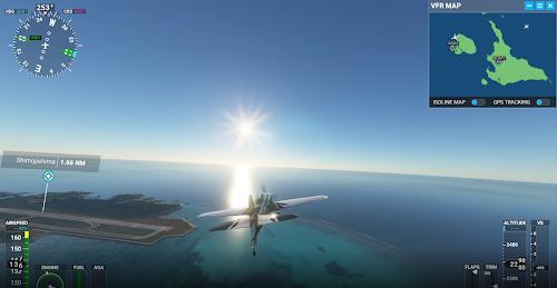 フライトシミュレータ2020 下地島