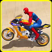 Superhero Motorbike Race