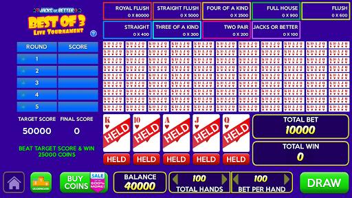 Multi Play Free Video Poker Games  screenshots 1