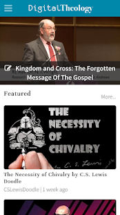 Digital Theology- screenshot thumbnail