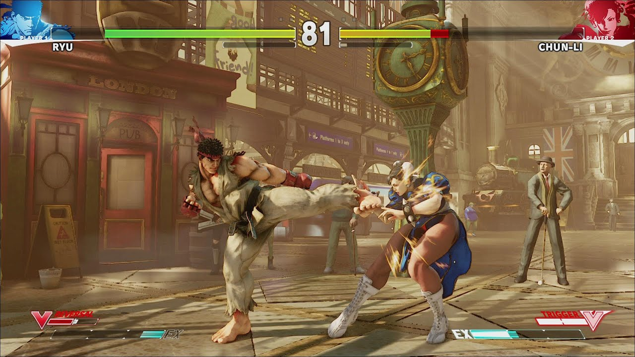 fighting sequence game