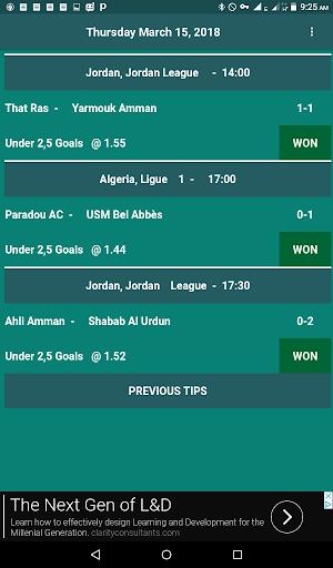 jUnder 2,5 Goals screenshots 1