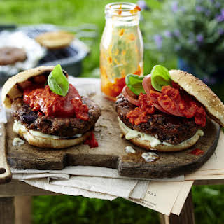 Spicy Bean Burgers.