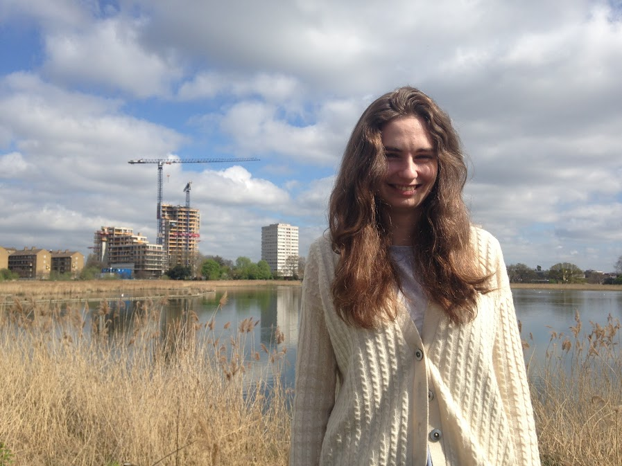 Laura looking stunning on a walk round some ponds we found in the middle of London.