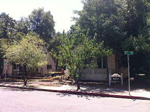 Photo: Across the street, copy shop is moving to these relocated houses