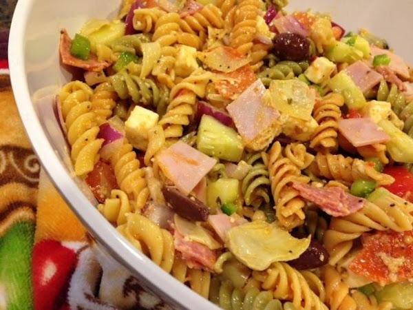 Pasta Salad Supreme Recipe