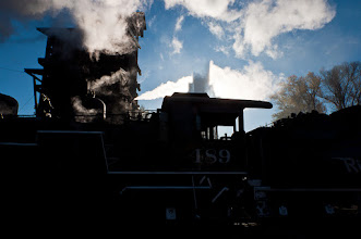 Photo: Steam engine in Chama