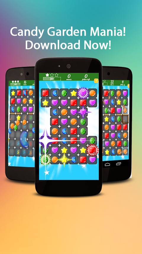 Candy Garden Mania Match 3 Android Apps on Google Play