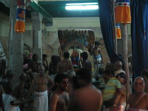 Photo: Sesha vahanam ready for purappadu