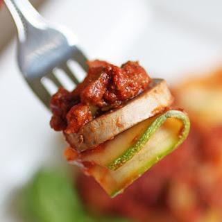 Zucchini Lasagna No Cheese Recipes.