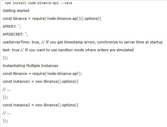 Binance API Tutorial - Easy for Beginners - Cryptoins io