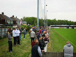 Photo: 03/05/14 v Ramsbottom United (Northern Premier League First Division North Play-Off Final) 2-3 - contributed by Leon Gladwell