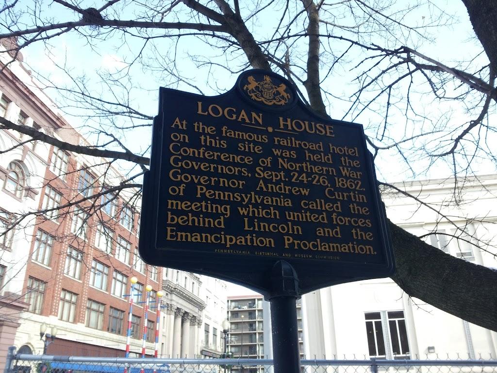 Read the Plaque - Logan House