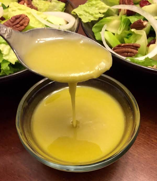 Cider Honey  Mustard Vinaigrette