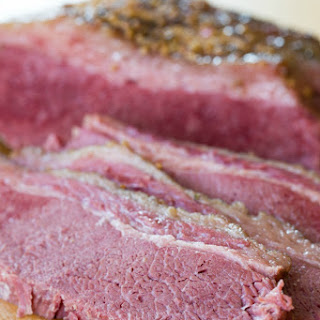 Easy Slow Cooker Corned Beef.