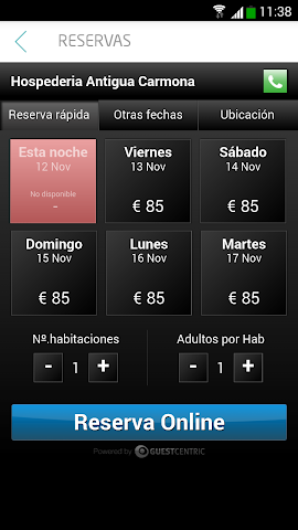 android H.A. Carmona Guest´s Guide Screenshot 3