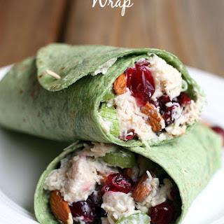 Turkey Cranberry Almond Wrap.