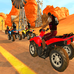Quad Race Desert for PC and MAC