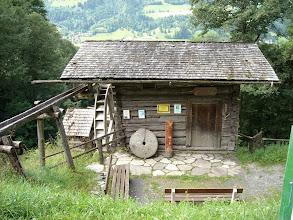 """Photo: Die alte """"Rauchberg-Mühle"""" am Gasteiner Höhenweg"""