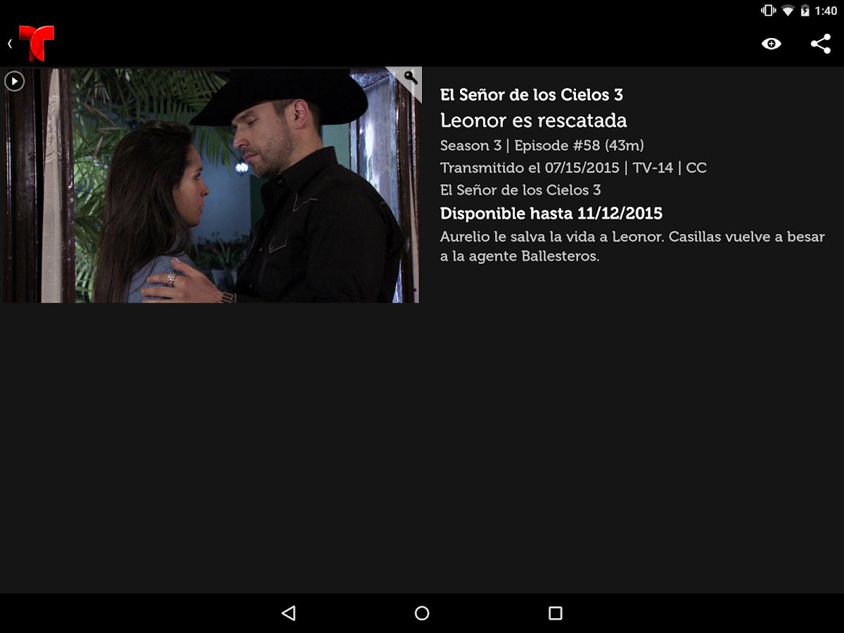 Telemundo Now- screenshot