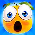 Gravity Orange 2 -Cut rope help orange pass window icon