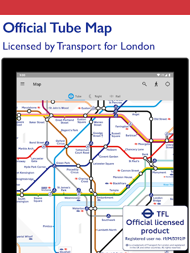 Tube Map - TfL London Underground route planner 5.9.5 Screenshots 7