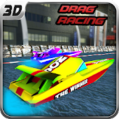 🚤Boat Drag Racing Free 3D🚤