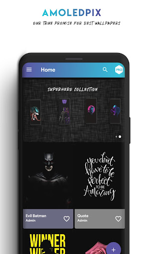AmoledPix - 4K Amoled & Black Wallpapers 1.5 screenshots 1