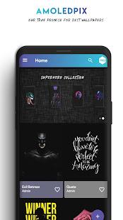 App AmoledPix - 4K Amoled Wallpapers & Dark Background APK for Windows Phone