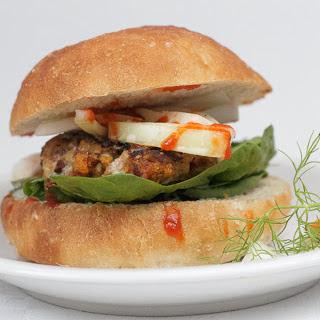 Roasted Garlic and Yam Burgers [Vegan]