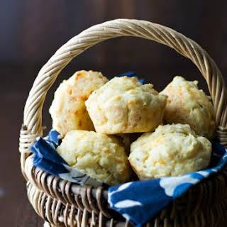 Gluten Free Cheddar Herb Muffins.