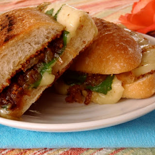 Grilled Cheese With Gruyère and Bacon-Onion Compote.