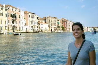Photo: Teresa enjoying the canal in Venice, Italy