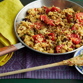 Riaz Gilani's Spiced Beef and Rice