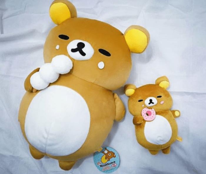 日本, 鬆弛熊, 夾公仔, 發福