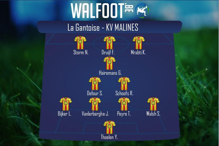 KV Malines (La Gantoise - KV Malines)