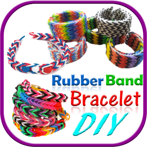 DIY Rubber Bands Bracelet – Step By Step Tutorial Android APK Download Free By Ramayana Studio